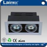 Grelha de leds osram de poupança de energia de luz com 24W / Marcação RoHS AEA