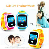 1,0 '' Touch Screen Smart GPS Tracker Watch com comunicação de 2 vias