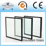 Vidro isolado para a parede de cortina das fachadas da porta do indicador