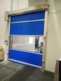 Tejido interior puertas de PVC de alta velocidad