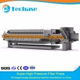Gute Qualitätsklärschlamm-Filterpresse gegen Riemen-Presse