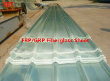 Панель листа FRP толя Glassfiber стеклоткани FRP/GRP просвечивающая Corrugated