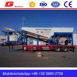 Impianto di miscelazione concreto mobile di nuovo disegno sulla vendita (YHZS50)