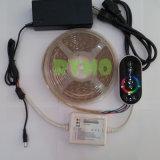 Светодиод 5 м газа комплект освещения с использованием сенсорного контроллера+300 светодиодный RGB SMD5050, Non-Waterproof+12 В источник питания (RM-SK-5050RGB60NW--T-11)