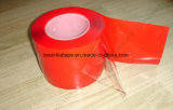 Cinta de acrílico adhesiva echada a un lado doble clara/cinta de Vhb