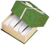 Het houten Vakje van de Verpakking van de Vertoning van de Gift van de Verpakking van het Horloge van het Vakje van de Opslag van het Horloge van het Document van het Leer van het Fluweel van het Verpakkende Geval van het Horloge (Lrw011)