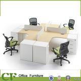 Экономичное рабочее место офиса 4 персон MFC модульное с держателем C.P.U.