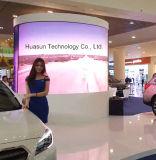 Transparente LED-Bildschirmanzeige mit ultra dünner Karosserie und hoher Helligkeit