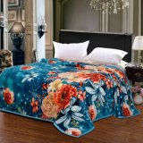 Супер мягкое напечатанное одеяло ватки одеяла фланели напечатанное Sr-B170305-5 Coral