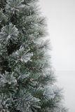 現実主義者のストリングライトマルチカラーLED装飾(AT1081)が付いている人工的なクリスマスツリー