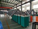 2つのアーム(4000m3/h気流)を搭載する溶接発煙のコレクター