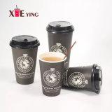 12oz de beschikbare Vriendschappelijke Enige Eco/Koppen van het Document van de Koffie van de Muur van het Dubbel/van de Rimpeling