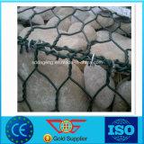 cadre de PVC Gabion/panier hexagonaux enduits de Gabion galvanisés par 1X1X1m