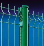 Sécurité élevée de plein air sur le fil soudé galvanisé temporaire grillage de séparation