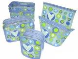 De hete Plastic Zakken van pvc van de Tribune van de Verkoop omhoog Duidelijke voor Schoonheidsmiddelen (flc-9105)