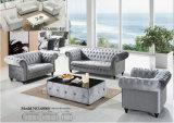Nuevo sofá clásico de la tela 2015 en la sala de estar (6806)