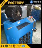 Gummiprodukt, das Maschinerie Uesd beweglicher hydraulischer Schlauch-quetschverbindenmaschine herstellt