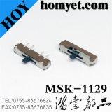 Interrupteur à bascule/contact coulissant (MSK-1129)