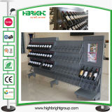 Equipamento de supermercados Showcase prateleira e rack de vinho de Metal