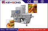 Carne automática e aves domésticas que aplainam a fábrica do alimento da máquina