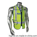 ANSI07 & En20471 증명서를 가진 경찰 사려깊은 조끼 (PL-003)