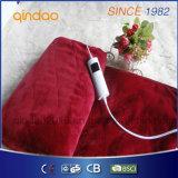 Coperta Heated elettrica della manovella della flanella di lusso di Qindao con approvazione di ETL