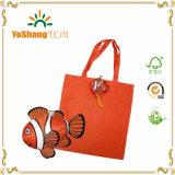 魚のショッピング・バッグ多彩なFoldable袋のハンドル袋の再使用可能なEcoのトートバック