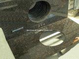 Encimera negra del polaco del granito (DES-E1)