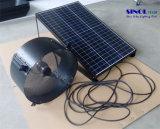Escape de garaje de 40W de energía solar accionado ventilador de pared montado con batería de litio incorporada (SN2013015)