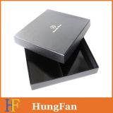 주문 로고 검정 호화스러운 서류상 선물 상자/포장 상자/종이상자