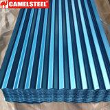 Dx51d Prepainted波形の鋼鉄屋根ふきシート