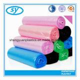 선전용 처분할 수 있는 플라스틱 색깔 쓰레기 봉지