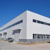 Entrepôt léger de structure métallique avec le mur de briques de 2 mètres