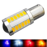 1156 indicatore luminoso dell'automobile di Ba15s 5050-33SMD LED