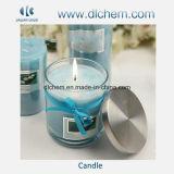 Candela della cera della soia nel fornitore di vetro del vaso