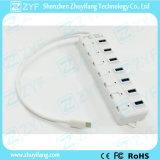 7 schakelaars 7 de Hub van het Type C USB 3.0 van Haven (ZYF4004)