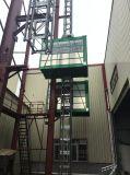 Doppia gru della costruzione dell'ascensore per persone della gabbia di Xmt/Xuanyu Sc200/200 2ton