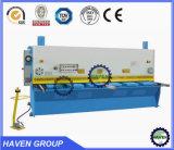 Máquina de corte da guilhotina QC11y-10X3200 hidráulica, máquina de estaca da placa de aço