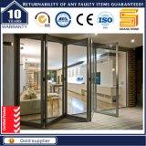 Bi-Faltende Aluminiumtür/Aluminiumfalz-Tür/Multi-Blatt Tür