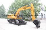 Excavador rodado 15 toneladas excavador de la rueda de 15 toneladas