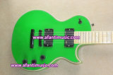 Corps et collet d'acajou/guitare électrique d'Afanti (AESP-45)