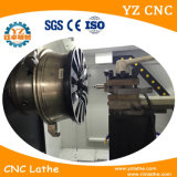 Máquina del torno del CNC del corte del diamante de la superficie de la rueda Wrc26