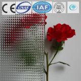il galleggiante di 3-8mm/ha temperato il vetro modellato di Aqualite per costruzione/divisorio