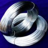 Construção do fio de ligação recozida e fio de ferro preto