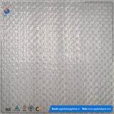 Tissu tissé par pp blanc en roulis pour l'emballage de balle