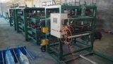 Rodillo del panel de emparedado de la hoja de la azotea de las lanas de roca que forma la máquina
