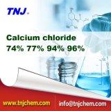 Cloruro de calcio de la buena calidad el 74% el 77% el 94% el 96% de los surtidores de China en el precio de fábrica