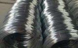 中国の工場によって電流を通される鉄ワイヤー
