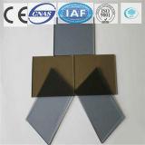 건물을%s 회색 또는 청동 색을 칠하는 명확한 부유물 또는 부드럽게 한 사려깊은 유리