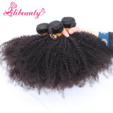 カンボジアのアフリカのねじれた巻き毛のバージンの毛の拡張10-28インチの在庫